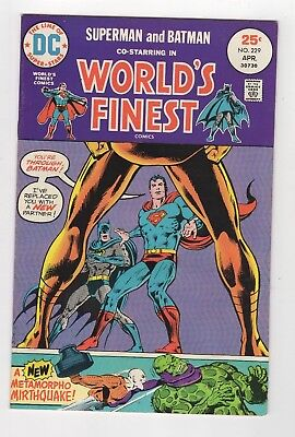 DC Comics Worlds Finest Origin Of Superman Batman Team 229 Bronze Age