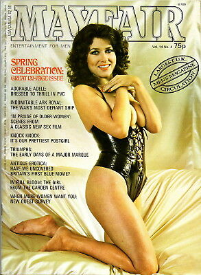 MAYFAIR:Vol.14 No.4-Ark Royal,Triumph Gloria/Dolomite Cars,Early Erotic Films