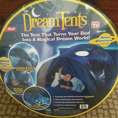 Dream Tents Space Adventure Kids Magical Dream World twin or bunk size play tent