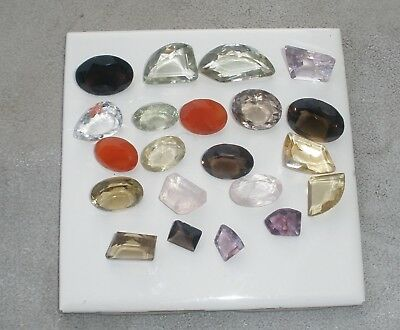 Gem Mix Large Natural Loose Faceted Gems 250 Carat Parcel Lot
