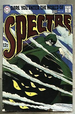 Spectre #10-1968 vg+ last issue Nick Cardy