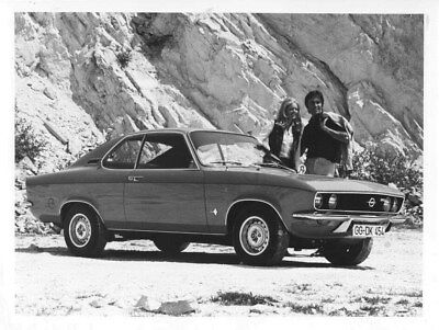 1970 Opel Manta ORIGINAL Factory Photo oua1419