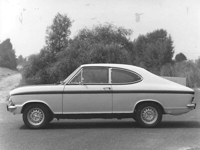1971 Opel Kadett Rallye ORIGINAL Factory Photo oua1435