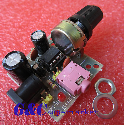 5PCS LM386 Super MINI Amplifier Board 3V-12V Power Amplifier new