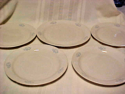 """Corelle by Corning LACE BOUQUET 1 Dinner Plate 10 1/4"""" and 4 Lunch Plate 9"""" Exce"""