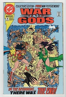 DC Comics Wars of the Gods #4 Collector's Edition Copper Age