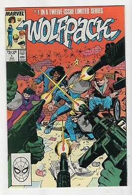 Marvel Comics Wolfpack #1 Copper Age
