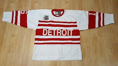 CCM Authentic Red Wings Konstantinov Jersey - Size 54 or XXL Vintage 75th