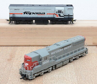 "2 Stk. Life-Like / Frateschi US-Diesellok´s der Southern Pacific + der ""fepasa"""