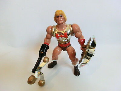 Masters Of The Universe Flying Fists He Man Actionfigur He Man Motu Vintage