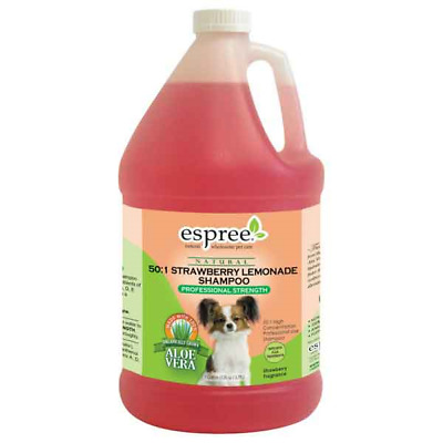 High Concentrate Pet Shampoo Professional Groomer Use Berry Lemonade Gallon 50:1