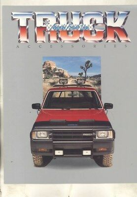 1988 Mazda US B2600 SE5 B2200 4x4 2x4 Pickup Truck Accessories Brochure wy9721