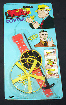 DICK TRACY COPTER (Ja-Ru #4959 1970s) MINT IN PACKAGE!