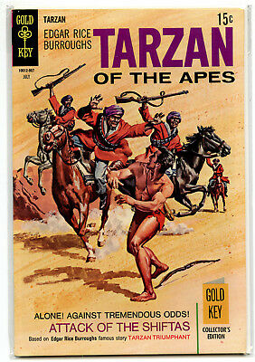 JERRY WEIST ESTATE: TARZAN OF THE APES #185 (Gold Key 1969) VF condition