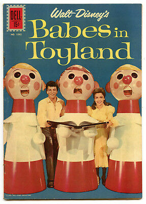 Jerry Weist Estate: Four Color #1282 Walt Disney'S Babes In Toyland 1962 Fn!