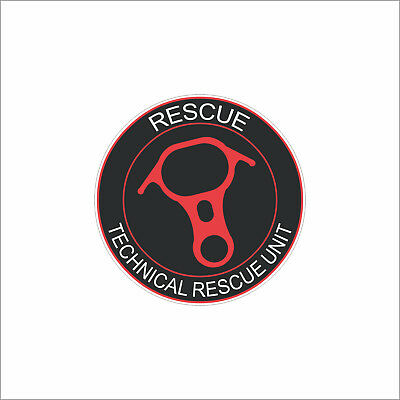 (Pack of 3) Technical Rescue Unit Sticker 100-21