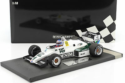 Keke Rosberg Williams FW08C #1 Winner Monaco GP Formel 1 1983 1:18 Minichamps