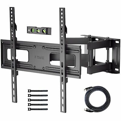 "Universal Table Pedestal Bracket Stand LCD/LED TV 32""-60"" Swivel Height Adjust"