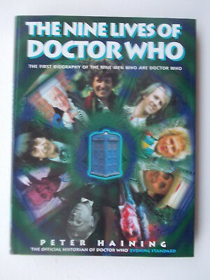 THE NINE LIVES OF DOCTOR WHO by Peter Haining (HB)