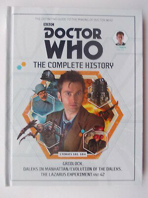 DOCTOR WHO THE COMPLETE HISTORY Stories 181  - 184 (HB)