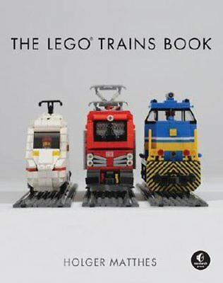 The Lego Trains Book by Holger Matthes (Hardback, 2017)