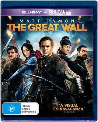 """THE GREAT WALL"" Blu-ray + Digital UV - Region [B] NEW"