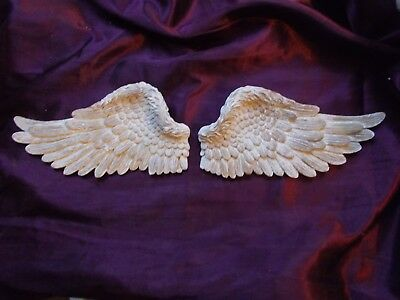 Angel Wings Silicone Rubber Moulds Left And Right Wings One Pair