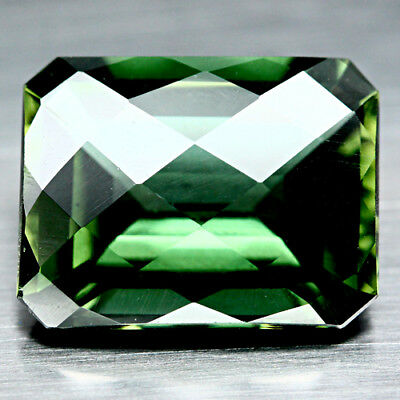 24.69 Ct Aaa Green Uruguay Amethyst Octagon Cut With Checker Board Table