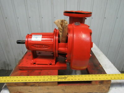 """Peerless F2 1050A Horizontal End Suction Centrifugal 6x5"""" Pump 900GPM 50H-FT"""