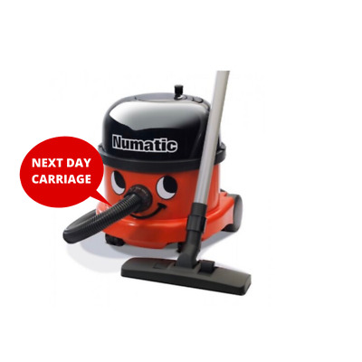 Henry Vacuum Cleaner GENUINE BRAND NEW Numatic NRV200-11 RED 2017 Commercial