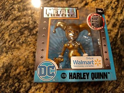 Harley Quinn Dc  Metals Die Cast Gold Outfit Walmart Exclusive