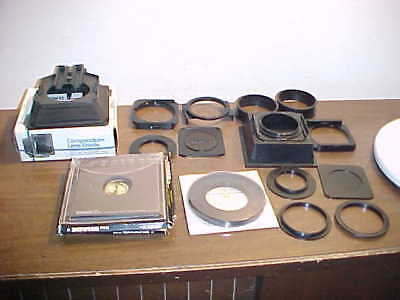 Assortment Of Ambico Camera Accessories Shade , Compendium Lens Shade Much More