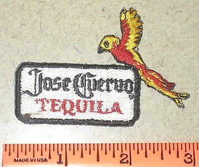 Jose Cuervo Tequila Alcoholic Beverage Liquor Distillery Logo Parrot Patch