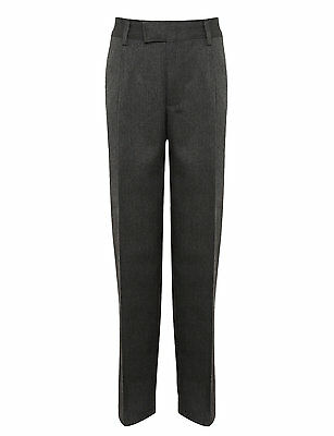 Boys School Trousers with Comfort Fit Waist 13-14 and 14-15