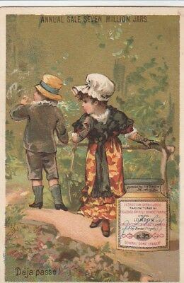 English Trade Card~Liebig's Extract Of Meat