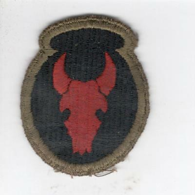 A629 British Made 34th Infantry Division Black Back Patch Win 10 Free US Shippin
