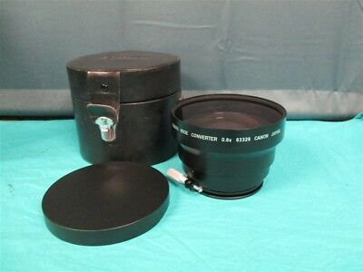 Canon HP compact .8x wide angle converter Lens with Case!