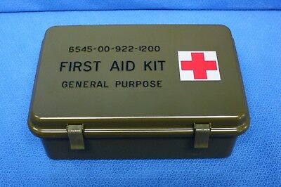 Rigid Case for Size A First Aid Kit Waterproof 6545-00-113-3722 Mfg 2016 New