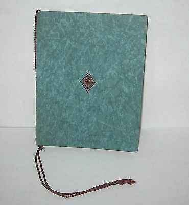 1927 Pi Beta Phi Fraternity Convention Pequot Minnesota Program Booklet