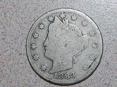 1883 With CENTS Liberty Nickel  (550)