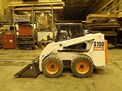 Bobcat S150 Skid Steer Loader - High Flow - Auxiliary Hydraulics