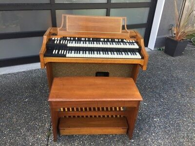 Serviced 1962 Hammond A100 Organ Worldwide shipping!  B3 C3 etc