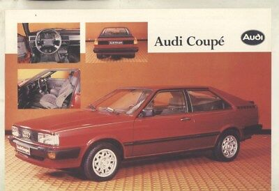 1983 Audi Seat Spain Coupe GT Brochure Spanish wy9754