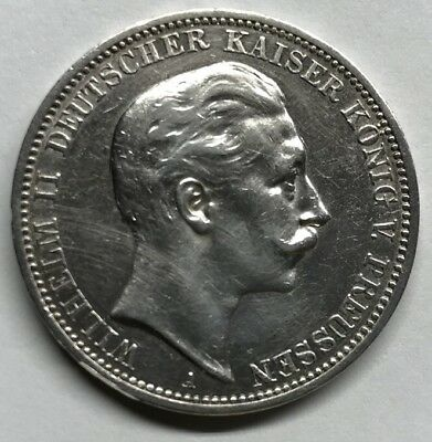 1912-A Germany Silver 3 Mark