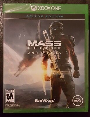 Mass Effect: Andromeda -- Deluxe Edition (Microsoft Xbox One, 2017)