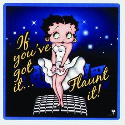 "Betty Boop 3 1/2"" x 3 1/2"" Magnet: If You Got It Flaunt It"