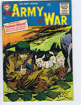 Our Army at War # 36 DC Pub 1955