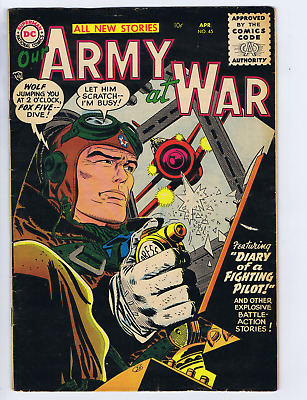 Our Army at War #45 DC Pub 1956