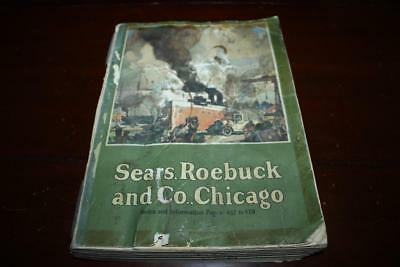 Vintage 1924 Sears Roebuck Chicago Department Store Mail Order Catalog Color Ads