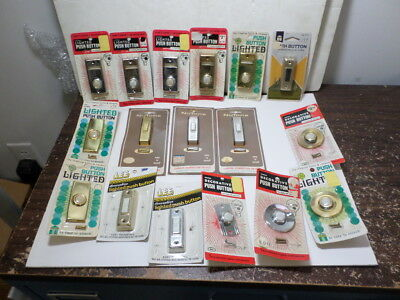 Vintage door bell lot of 17 total NOS late 1970s in packages MADE IN USA